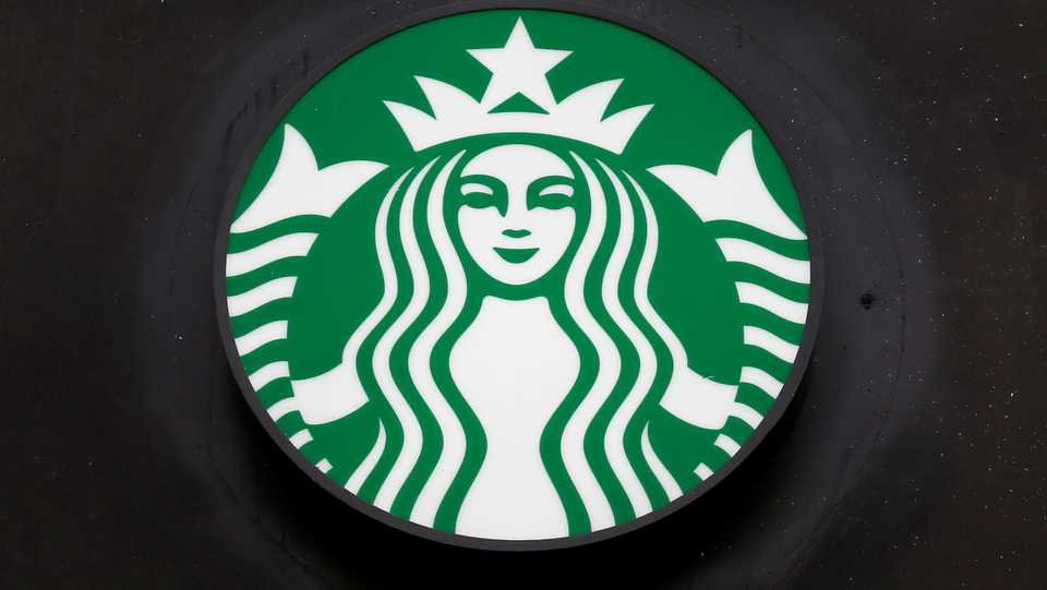 A Starbucks store sign is shown during the Covid-19 outbreak in Valparaiso, Chile April 9, 2020. Picture taken April 9, 2020.