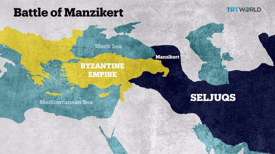 How Turks Came To Anatolia: The Battle Of Manzikert