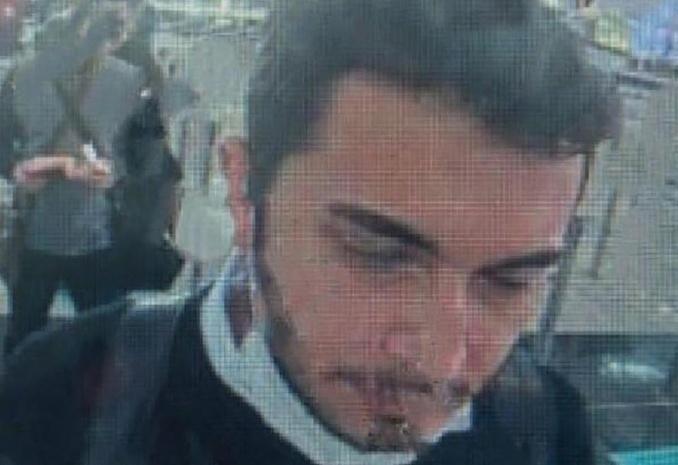 Turkish security officials released a photo of Thodex founder Faruk Fatih Ozer going through passport control at Istanbul airport on April 22, 2021.