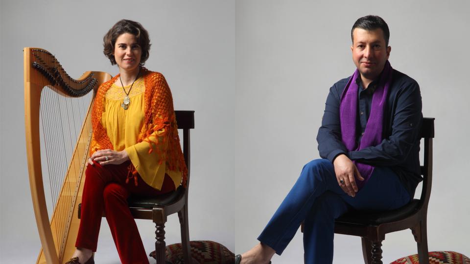 Sirin Pancaroglu and Bora Uymaz will honour the Turkish folk poet Yunus Emre with their project 'Yellow Flower'.