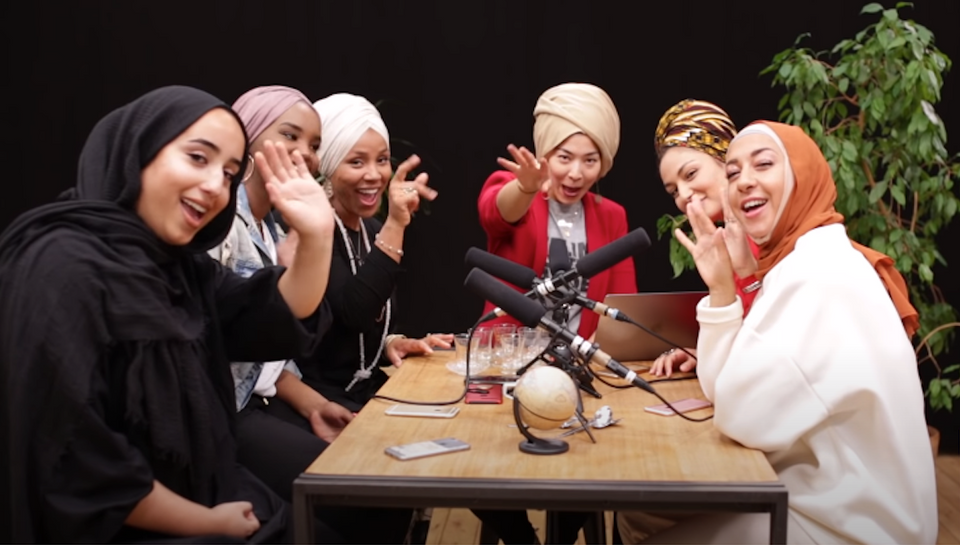 Karakaya Talks started its first episode in 2018 with six hijab-wearing women.