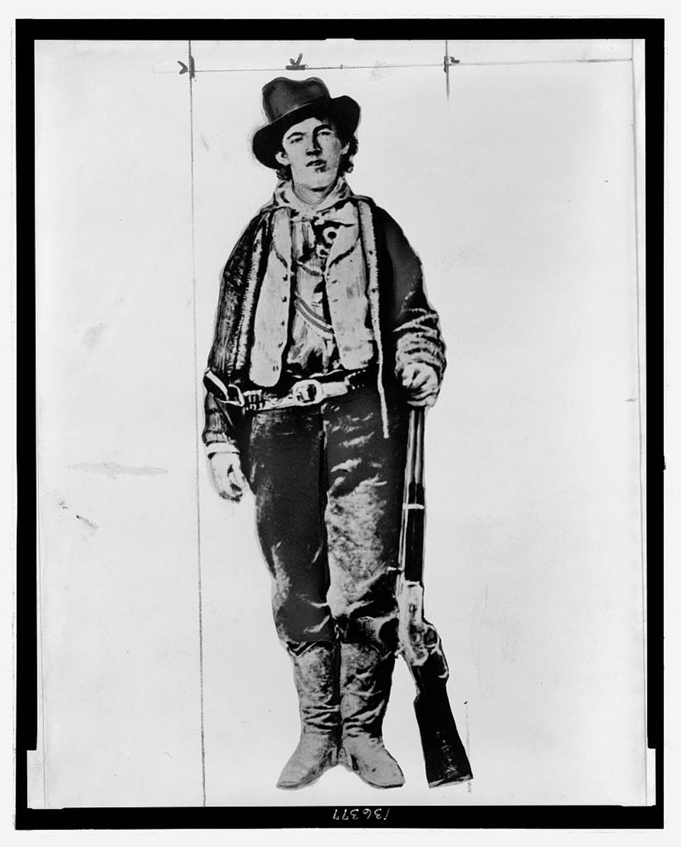 An undated photograph of Henry McCarty, aka Billy the Kid, obtained by Reuters in 2010.