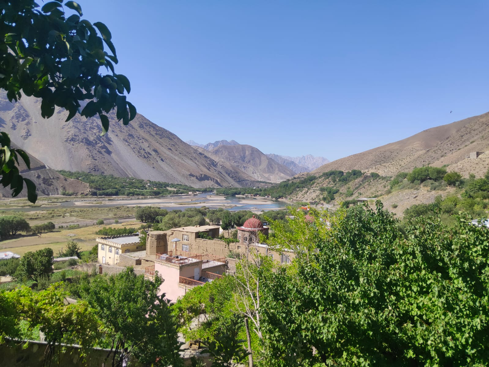 A current view of Panjshir Valley, which was known as the military stronghold of Ahmad Shah Massoud, Afghanistan's legendary Tajik leader.