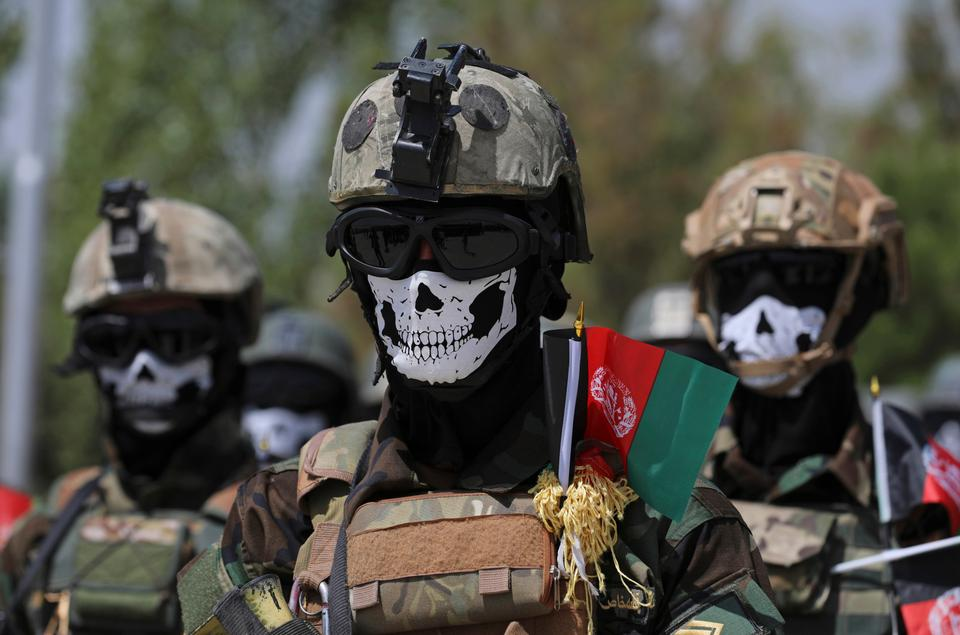 The US and NATO have promised to pay $4 billion a year until 2024 to finance Afghanistan's military and security forces, which are struggling to contain an advancing Taliban.
