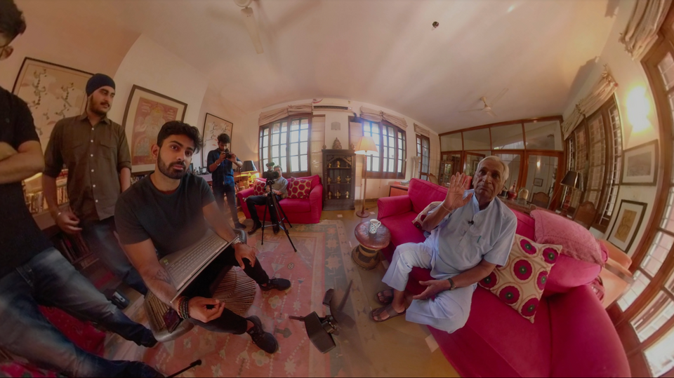 How a VR venture reconnects Indo-Pak partition survivors with their properties