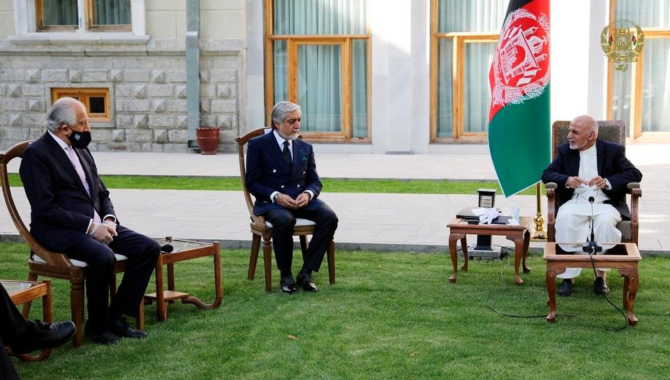 US peace envoy Zalmay Khalilzad appeared to maneuver Afghan President Ashraf Ghani with the US-Taliban peace deal signed in February 2020.