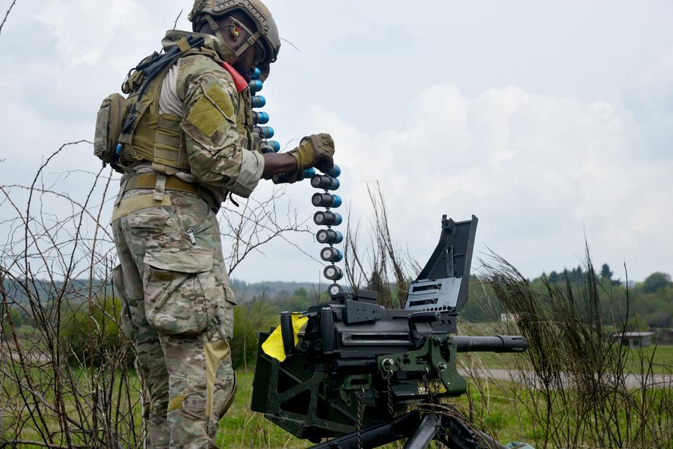 MK19 grenade launcher designed for 44mm grendades