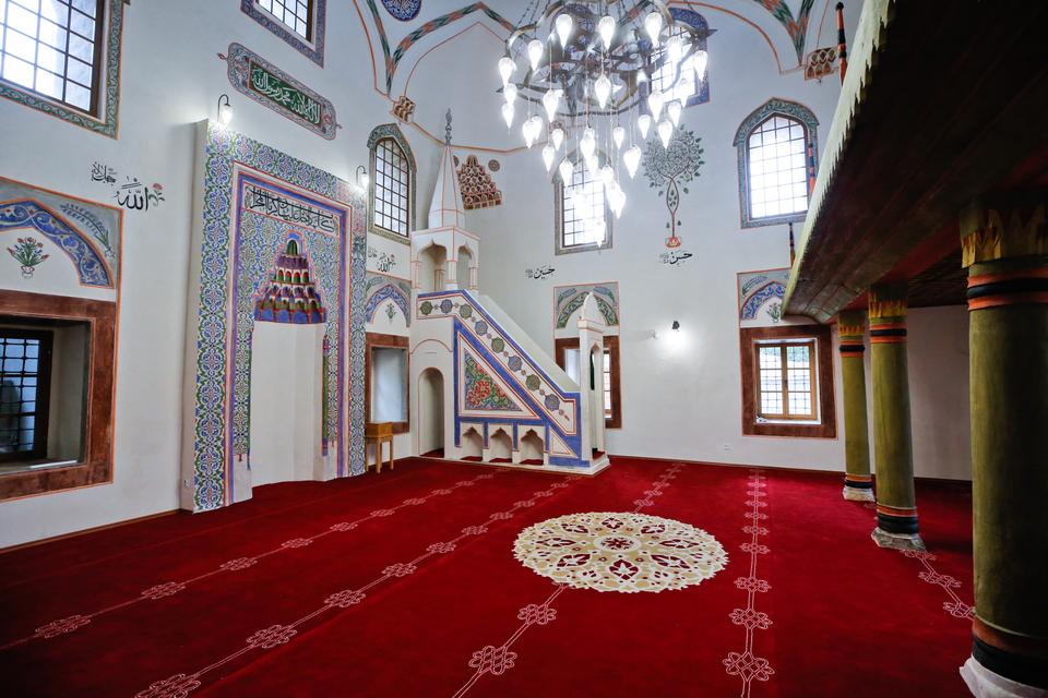 The restoration of the mosque took three years from 2017 to 2020.