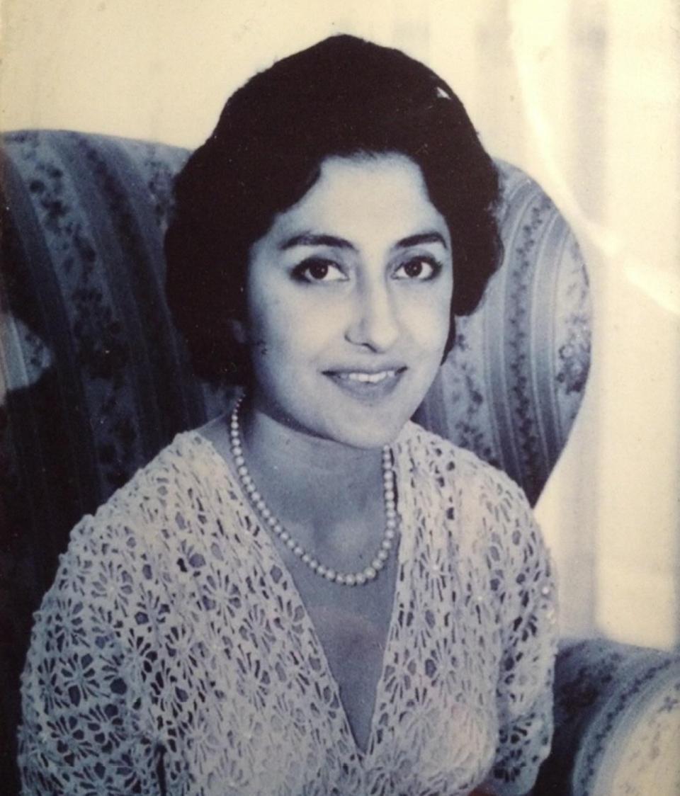 A rare portrait of Princess Naciye Dogan taken in her youth.