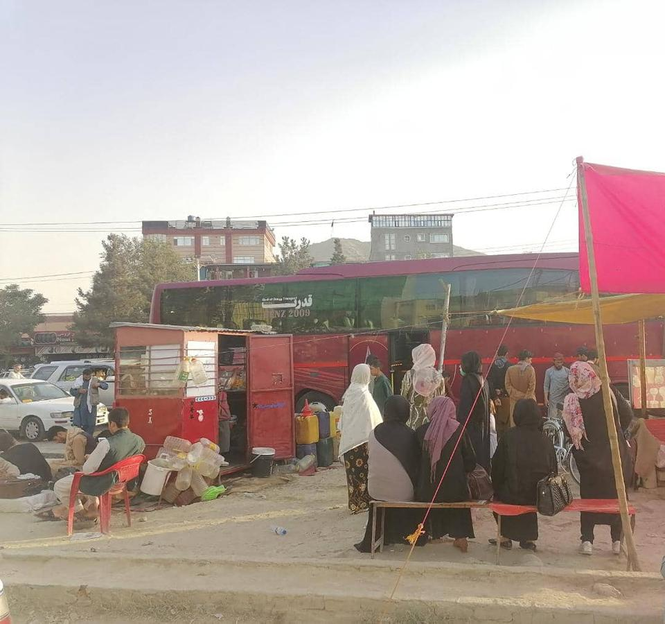 After Kabul fell to the Taliban on August 15, Afghan women began to take long highway journeys without any hesitation.