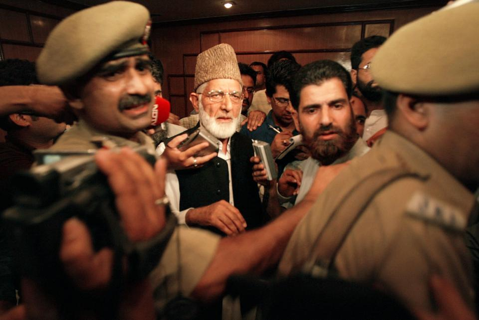 For most of the past decade, Indian police restricted Syed Ali Geelani's movement.