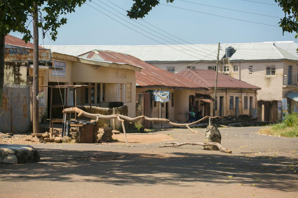 Residents in Tafa Balewa township stayed indoors adhering to the 24 hour curfew in Jos.