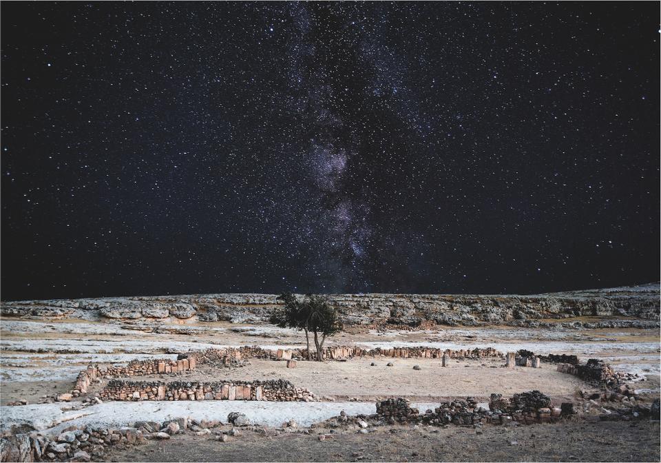 SInem Disli, Pognon's Cave Remains, 2015, photography, 112.5 x 144 cm