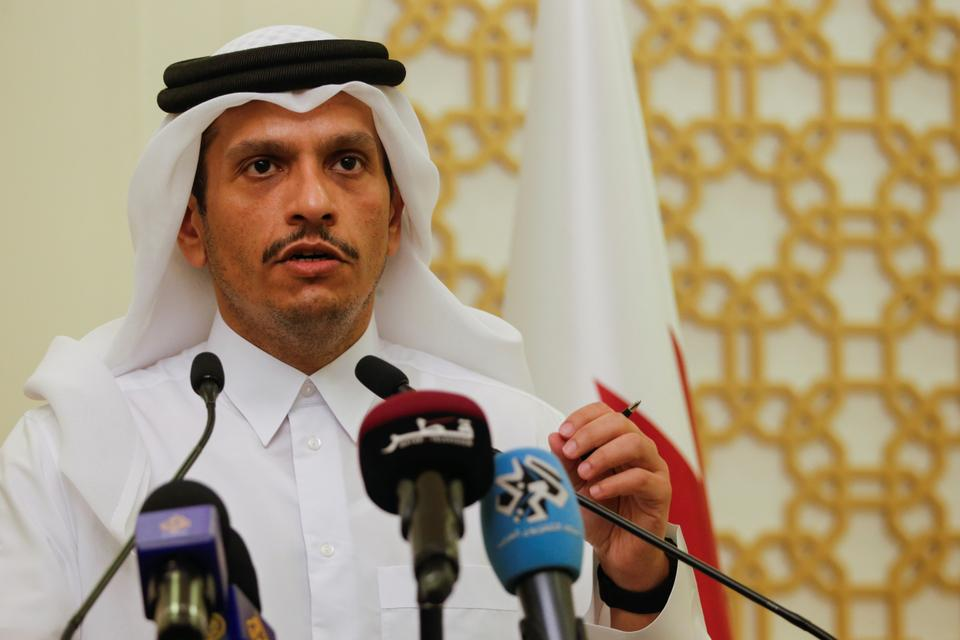 Qatar's Foreign Minister Mohammed bin Abdulrahman Al Thani held the first high-level talks with the Taliban leadership in Kabul since the group's takeover.