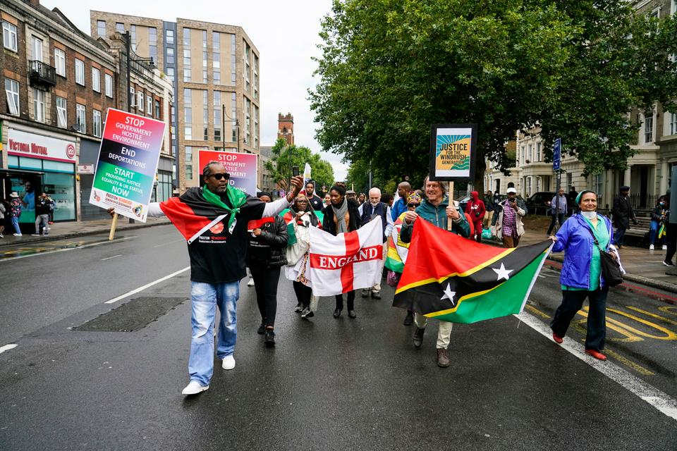 The residents of Brixton participate in the Afrikan Emancipation Day Reparations march every year on August 1.