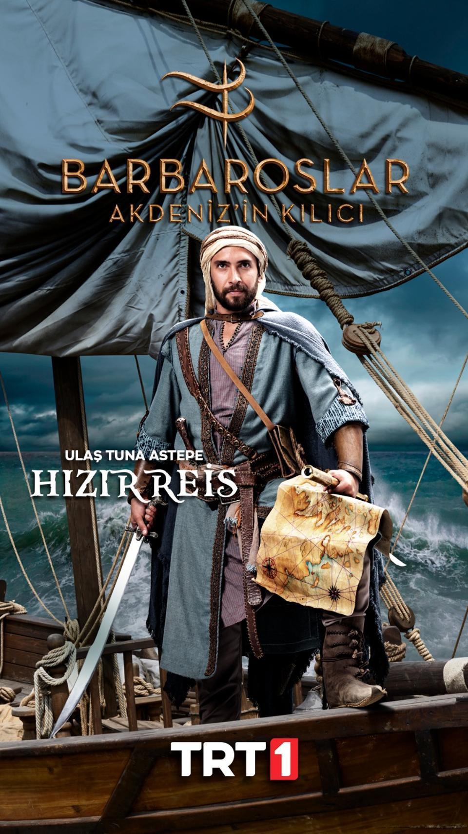 Hizir Reis will eventually become Barbaros Hayreddin Pasha, the admiral of the Ottoman fleet.