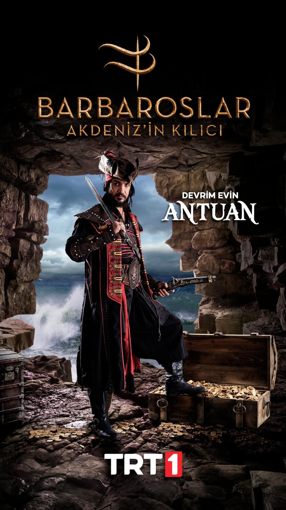 Every story needs a villain: Antuan (Antoine) is brought to life by Devrim Evin.