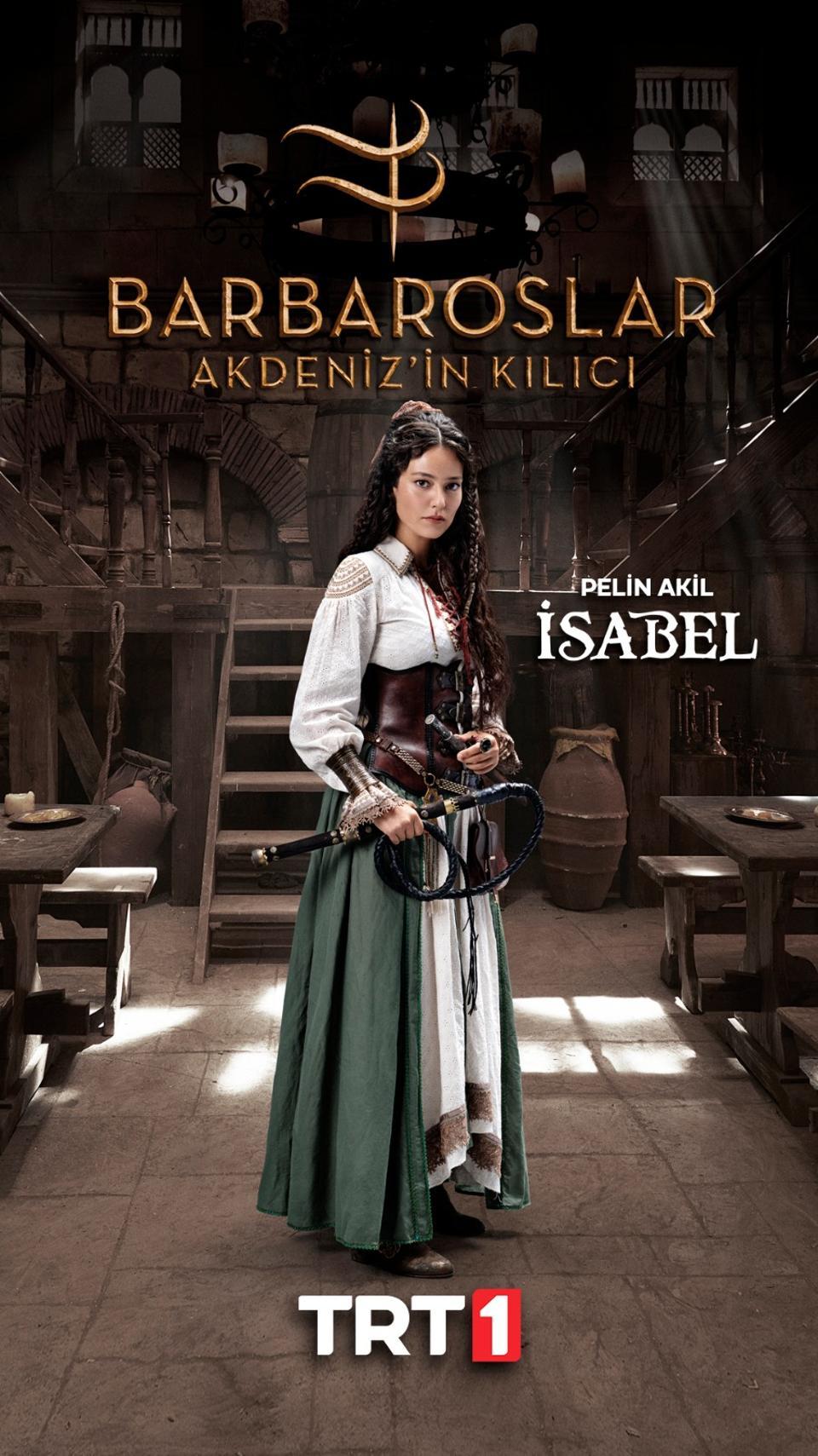 Isabel runs an inn in Alexandria and is a shrewd businesswoman.