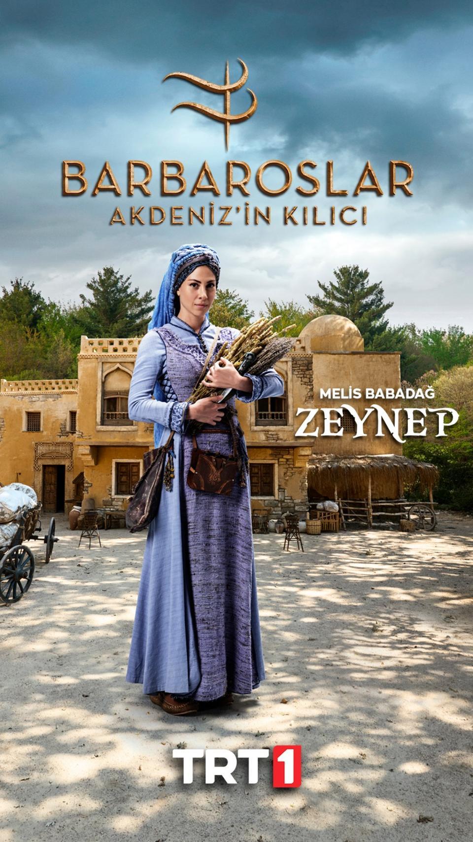 Zeynep is a swashbuckling healer with secrets in her past.