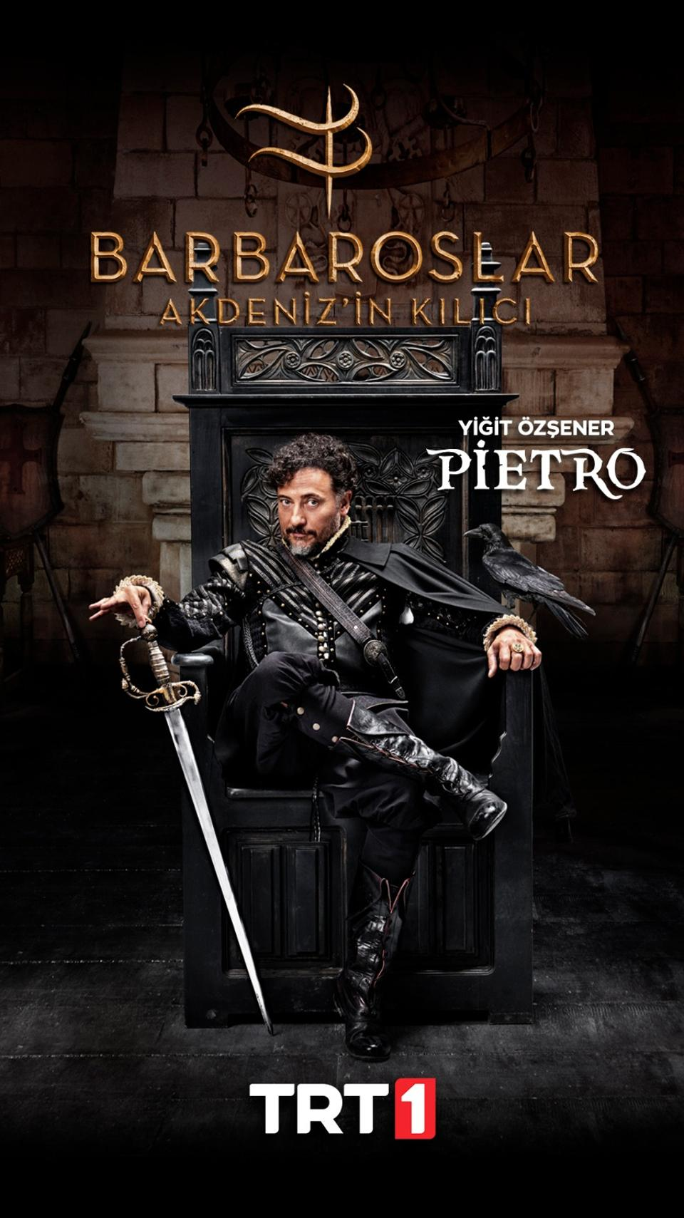 Pietro is after the same secret that Hizir is after; he makes a fine villain, too.