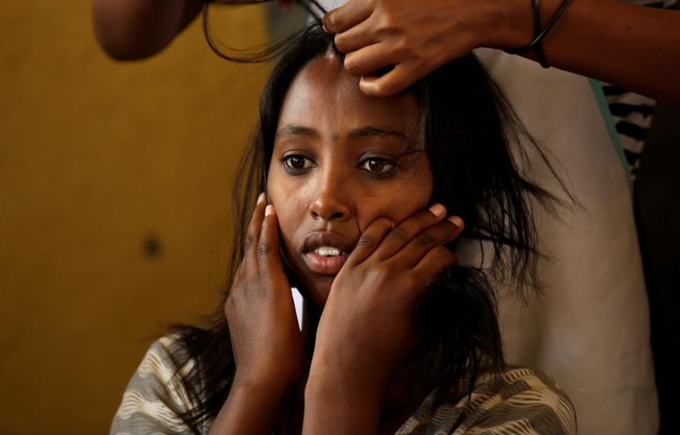 Two Eritrean refugees said that the militia sexually abused them along with the other four women. (REUTERS)