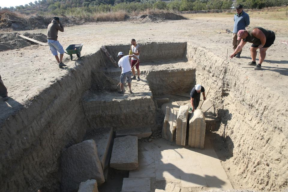Magnesia in Turkey's Aydin province was first dug up before the establishment of the Republic of Turkey by a German archaeologist.
