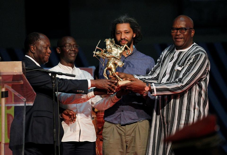 The French-Senegalese Alain Gomis, director of the movie