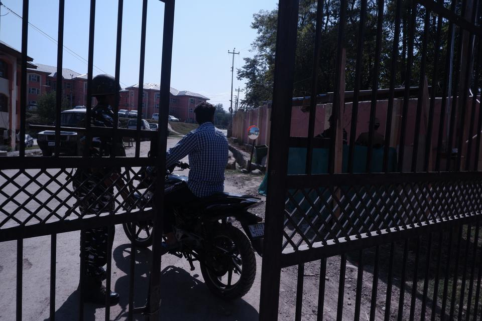 The Indian government beefed up the security of all gated communities exclusively built for Kashmiri Pandits in 2005, when many members of the minority community returned to Kashmir under the government's rehabilitation plan.