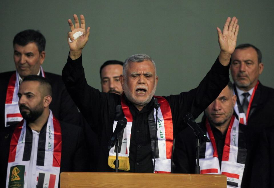 Hadi al-Amiri, the leader of pro-Iranian Fatah Alliance, has rejected the results of Iraq's elections as