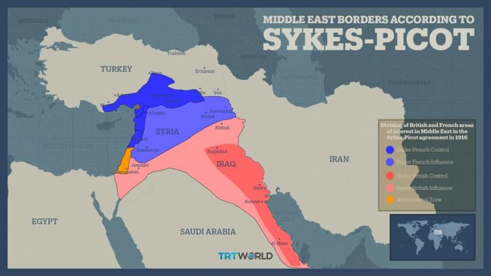 Sykes Picot Deal 100 Years Of Arab Resentment