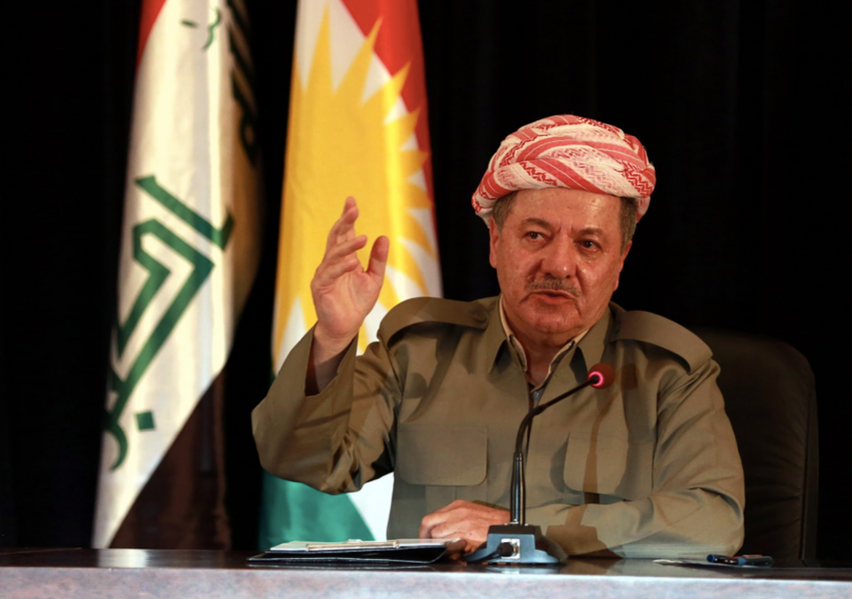 """""""I am the same Masoud Barzani, I am a Peshmerga and will continue to help my people in their struggle for independence,"""" Barzani said, after he announced his resignation."""