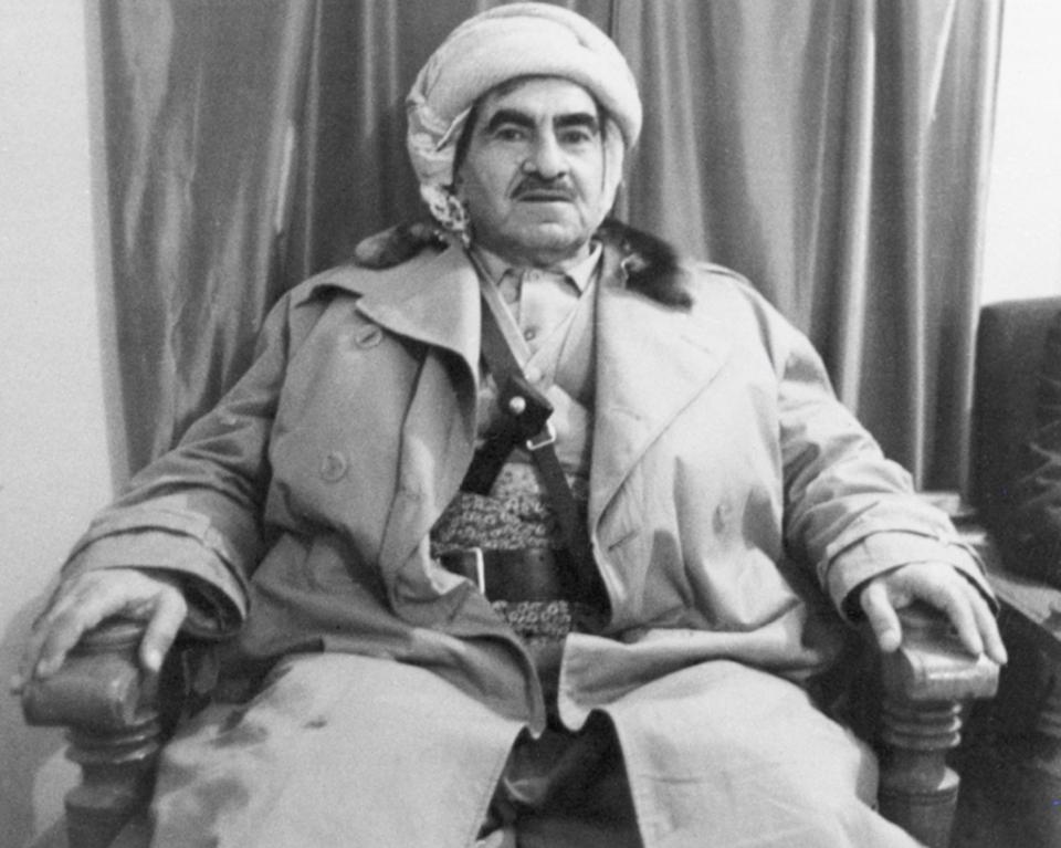 Mustafa Barzani, Masoud's father was a prominent Kurdish leader, who led several revolts against the Iraqi government.