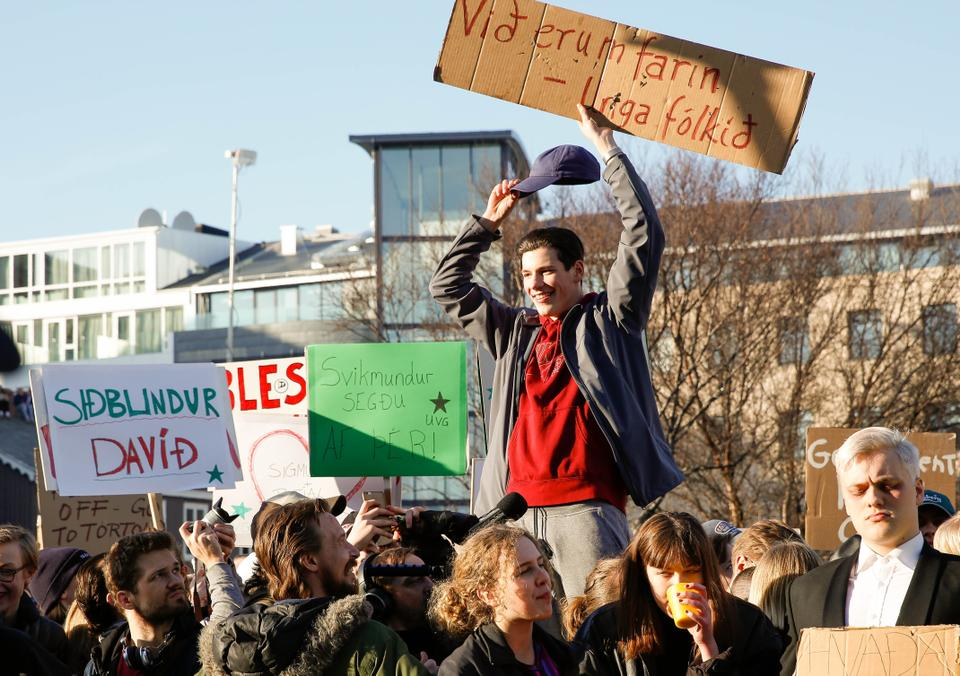Iceland's Prime Minister Sigmundur David Gunnlaugsson stepped down amid massive protests in 2016 after it was found that he had accounts in offshore tax havens.