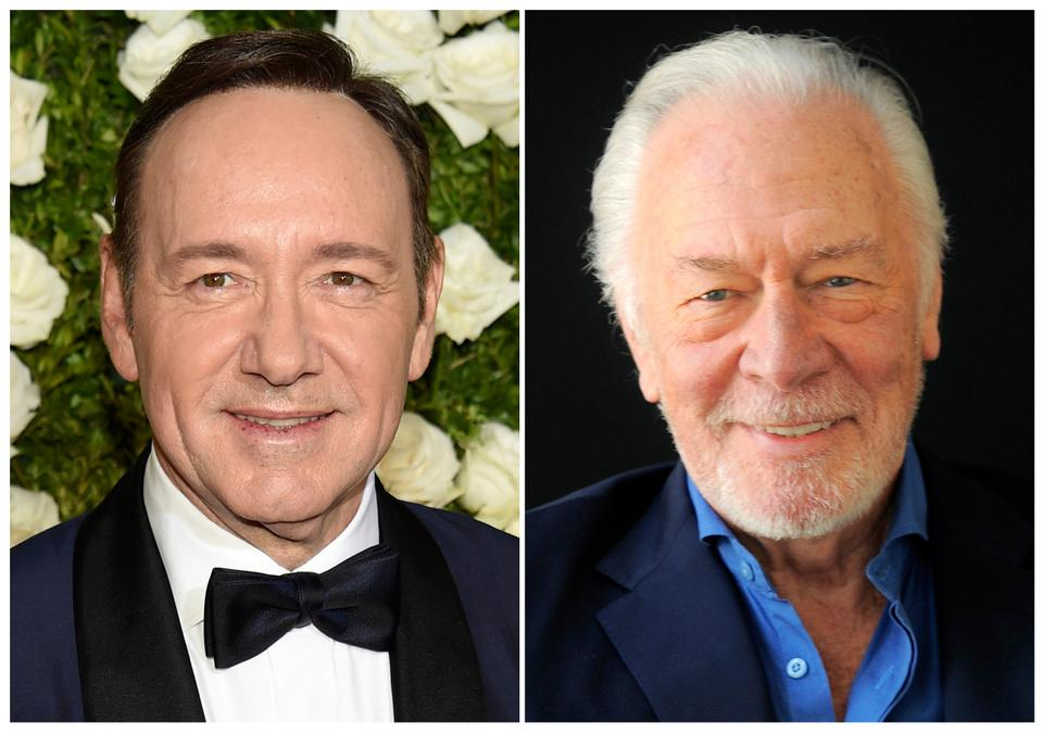 "Spacey was cut out of Ridley Scott's finished film ""All the Money in the World"" and replaced by Christopher Plummer just over one month before it's supposed to hit theaters. (File Photo)"