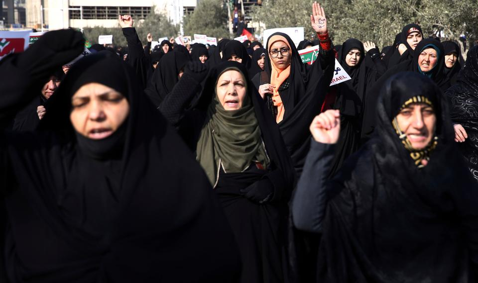 It was Iranian clergy's good luck that a planned rally of its supporters was scheduled for Saturday and it was able to put on some show of strength.