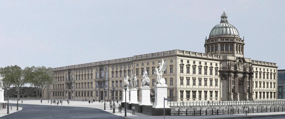 Described as a 'Base Cap for The World, the Humboldt Forum, which will open in 2019, will be the most expensive cultural institution in the country. (Courtesy of Humboldt Forum)