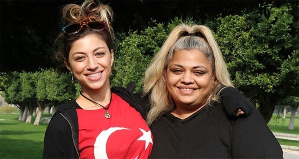 Sisters Hatice Berberoglu and Secil Berberoglu are still looking for two of their brothers who were also sold off by their father in exchange for money some two decades ago in Turkey's Adana.