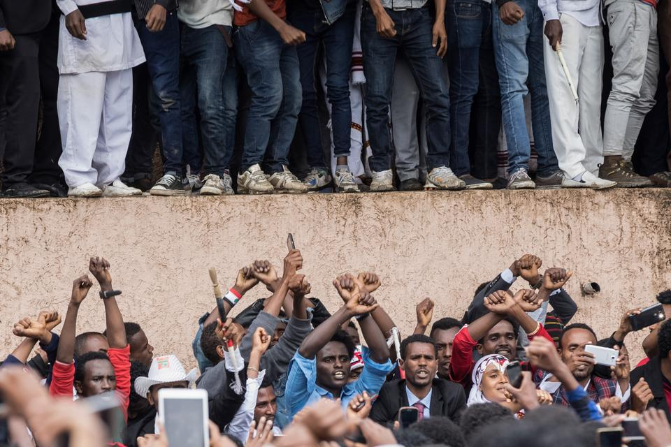 Demonstrations in Ethiopia demanding wider freedoms began in late 2015 and engulfed much of the restive Oromia and Amhara regions before spreading into other parts of the country. October 1, 2017