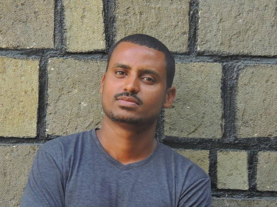 Atnafu Brhane says he was tortured during his three-month imprisonment at Ethiopia's Maekelawi Police Station.