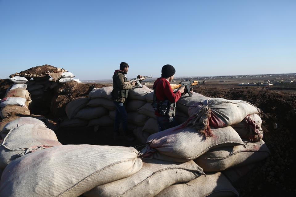 Turkey-backed FSA troops aim towards YPG targets. Turkey's military operation to remove the group from Afrin is just its latest intervention in northern Syria. Turkish troops have already gone into Syria twice in the past two years.