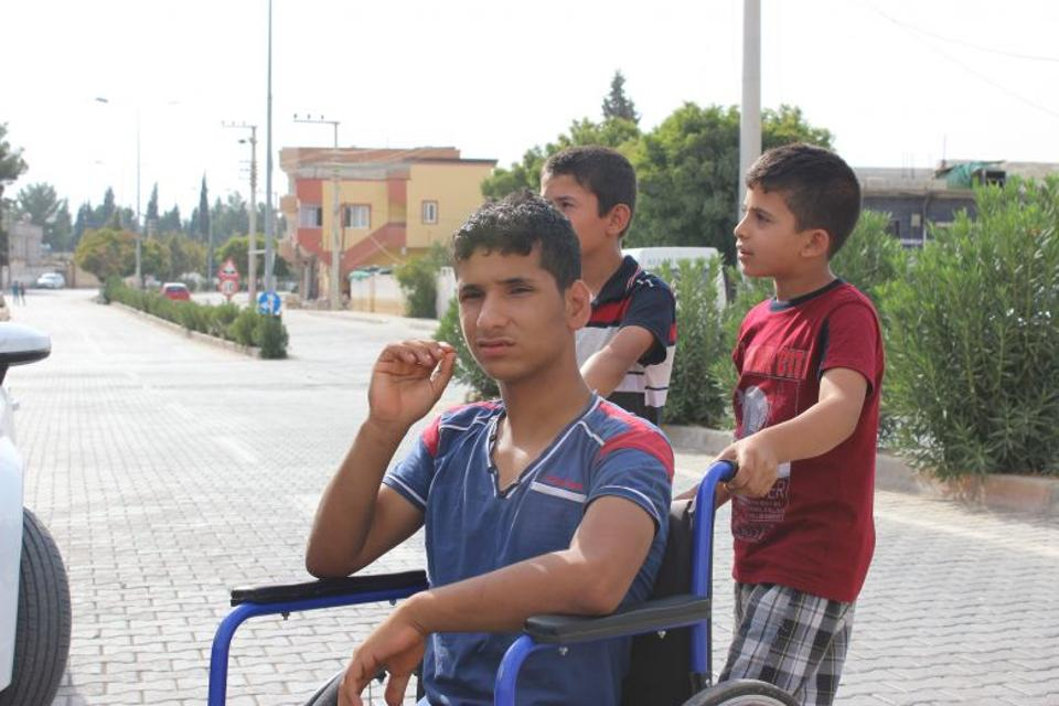 Ali, 16, Recep 10, and Omar, 12, returned early morning on August 25, 2016 after Turkish security forces said it was safe to return to Karkamis, Turkey.