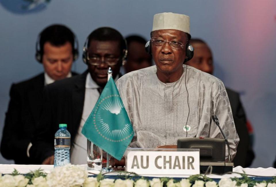 Chairperson of the African Union (AU) and Chad's President Idriss Deby attends the Sixth Tokyo International Conference on African Development (TICAD VI) in Kenya's capital Nairobi, August 27, 2016. (Reuters)