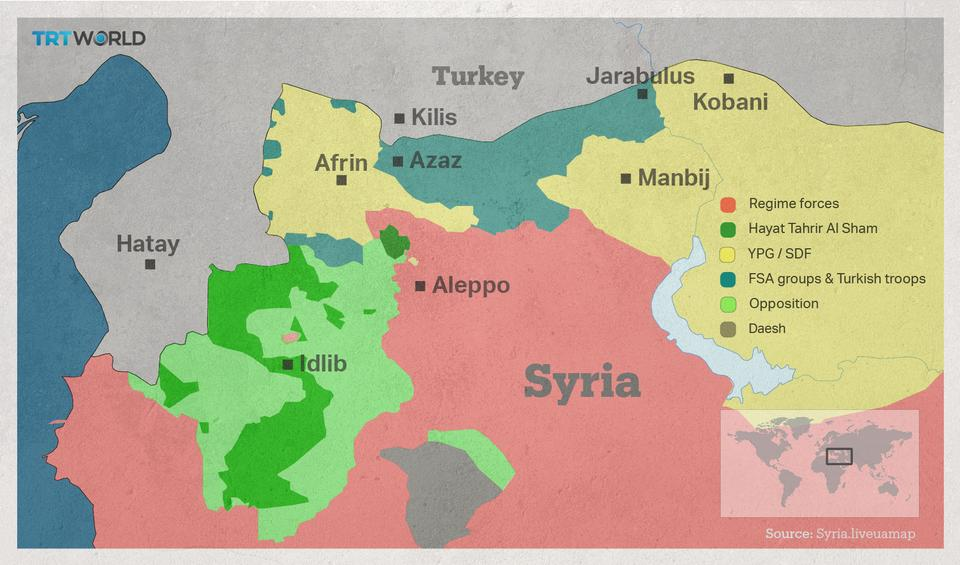 Ankara has repeatedly reiterates that its biggest security concern is the PKK/YPG carving out an autonomous territory near its southeastern border.