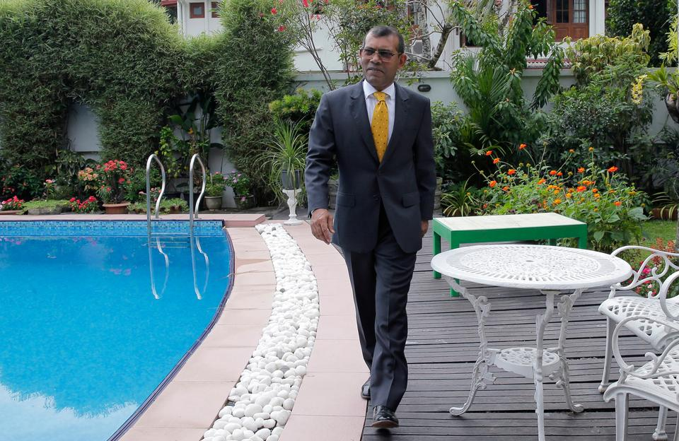 Nasheed, who was among the opposition politicians ordered freed by the Supreme Court and who is now in neighbouring Sri Lanka, denounced the government's actions. February 2, 2018.