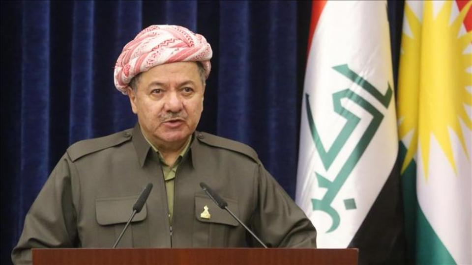 President of Iraqi Kurdish Regional Government (KRG) Masoud Barzani.
