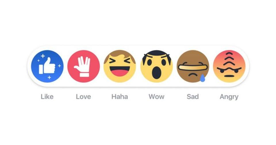Facebook is also celebrating Star Trek's 50th anniversary with changes to their suite of Like buttons.
