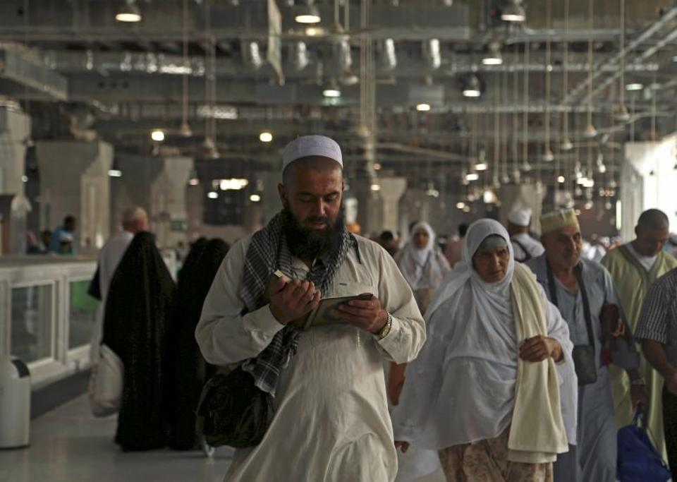 Muslim pilgrims circle the Kaaba at the Grand mosque in Mecca, Saudi Arabia September 8, 2016. (Reuters)
