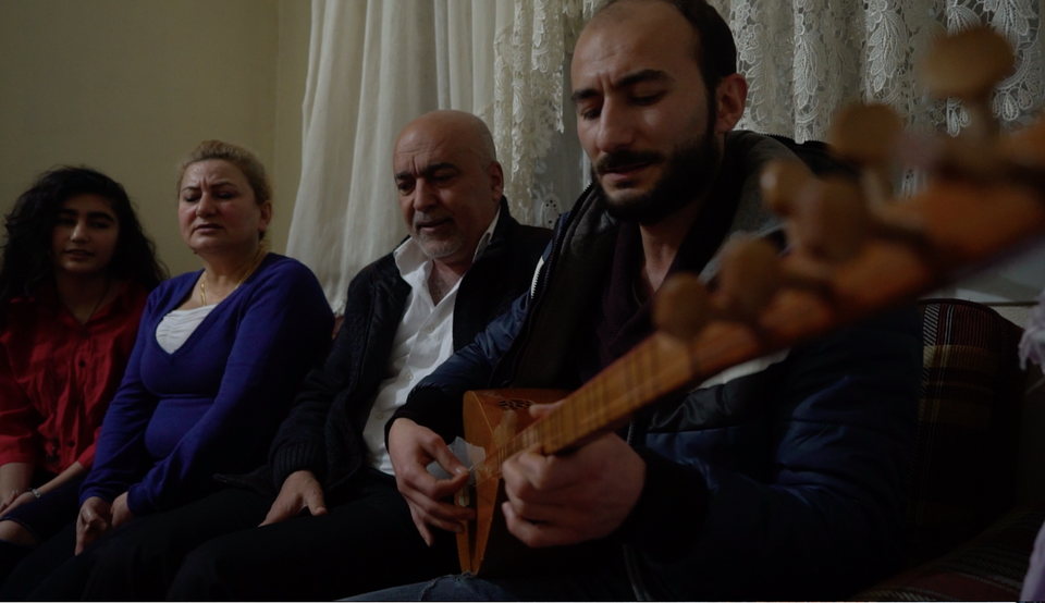 Azad Osman and his family members have been forced out of Syria, settling in Turkey because of their fierce opposition to the Assad regime. The Syrian Kurdish family is from Afrin, a YPG-controlled territory in northern Syria.