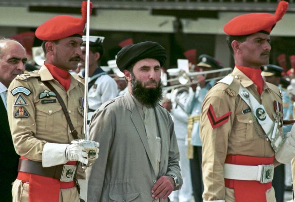 Pakistan's intelligence agency saw Hekmatyar as the most capable of the anti-Soviet fighters and gave him the bulk of the Western assistance [AP]