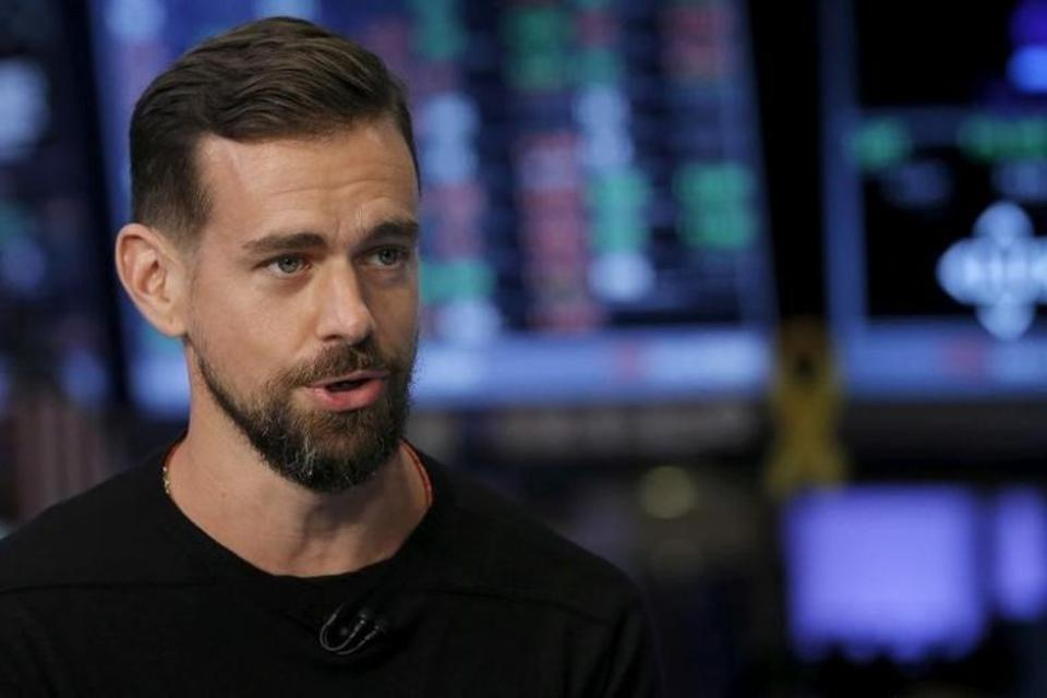 Jack Dorsey, CEO of Twitter, speaks during an interview November 19, 2015. Source: Reuters